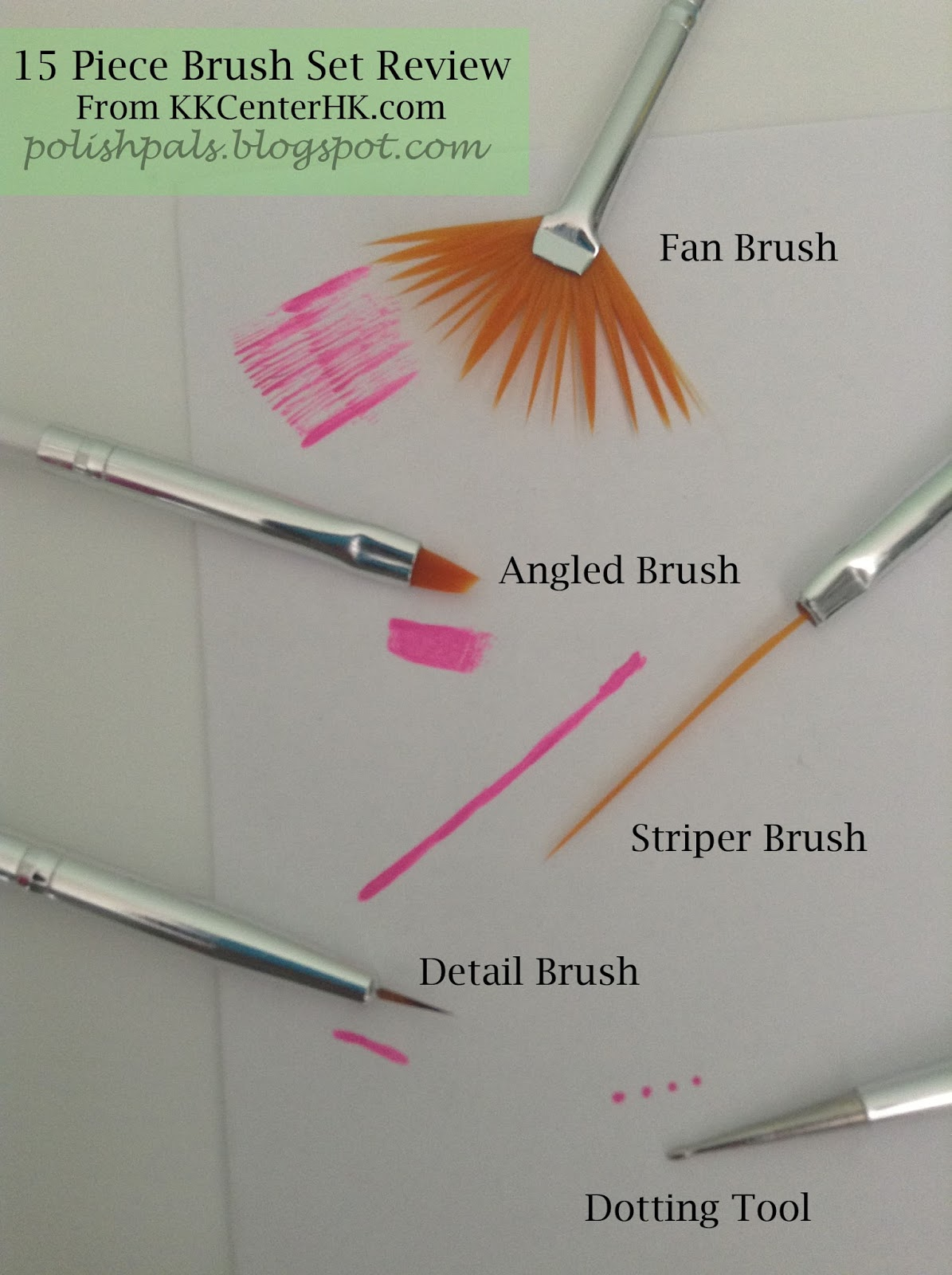 Polish Pals: FAQ: Nail Art Brushes