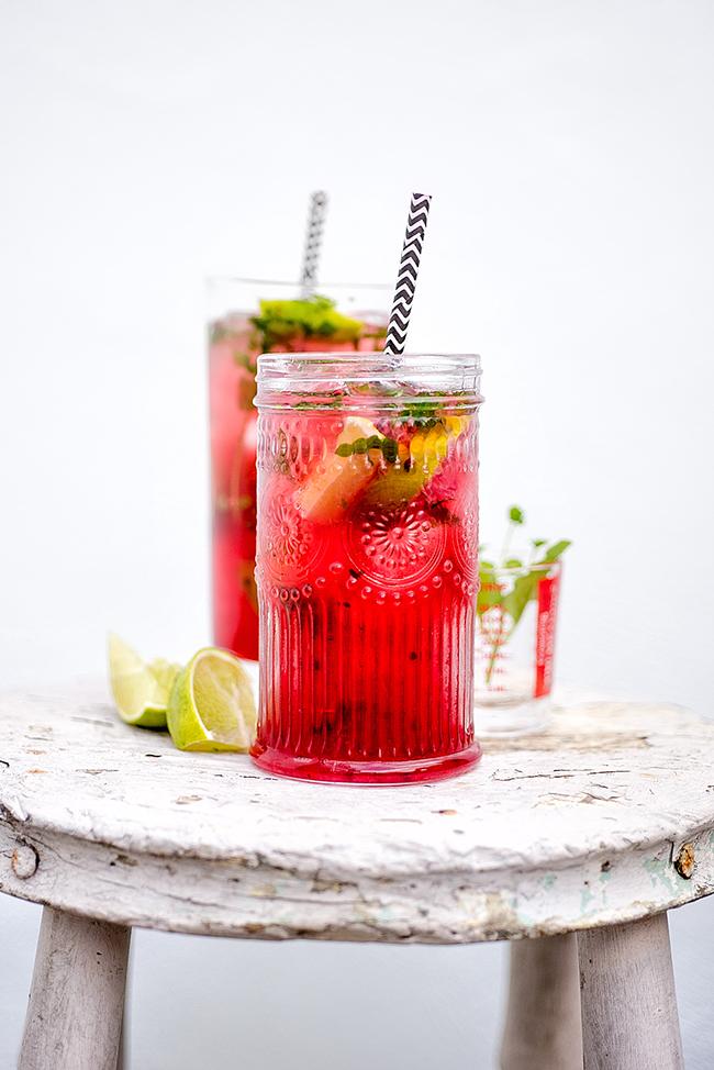 Cocktail Friday: Pink Mojito