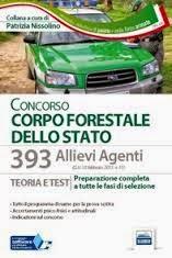 BANDO DI CORCORSO 2015 PER 393 ALLIEVI AGENTI NEL CORPO FORESTALE DELLO STATO