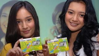 Promo Bonus Pulsa Indosat pada Perayaan HUT RI tahun 2015 (Soure: Antara/Audy Alwi)