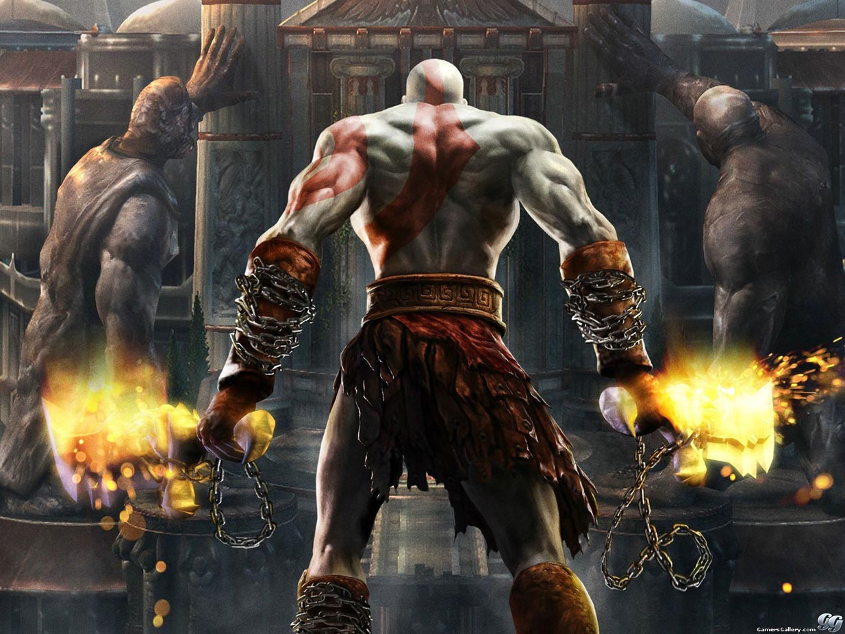 god of war 3 review wallpaper pc game mmolite