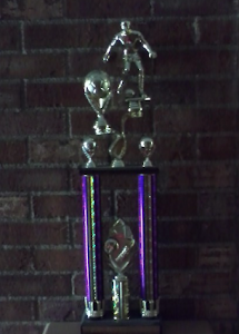 2008 Mustang Classic Championship Trophy
