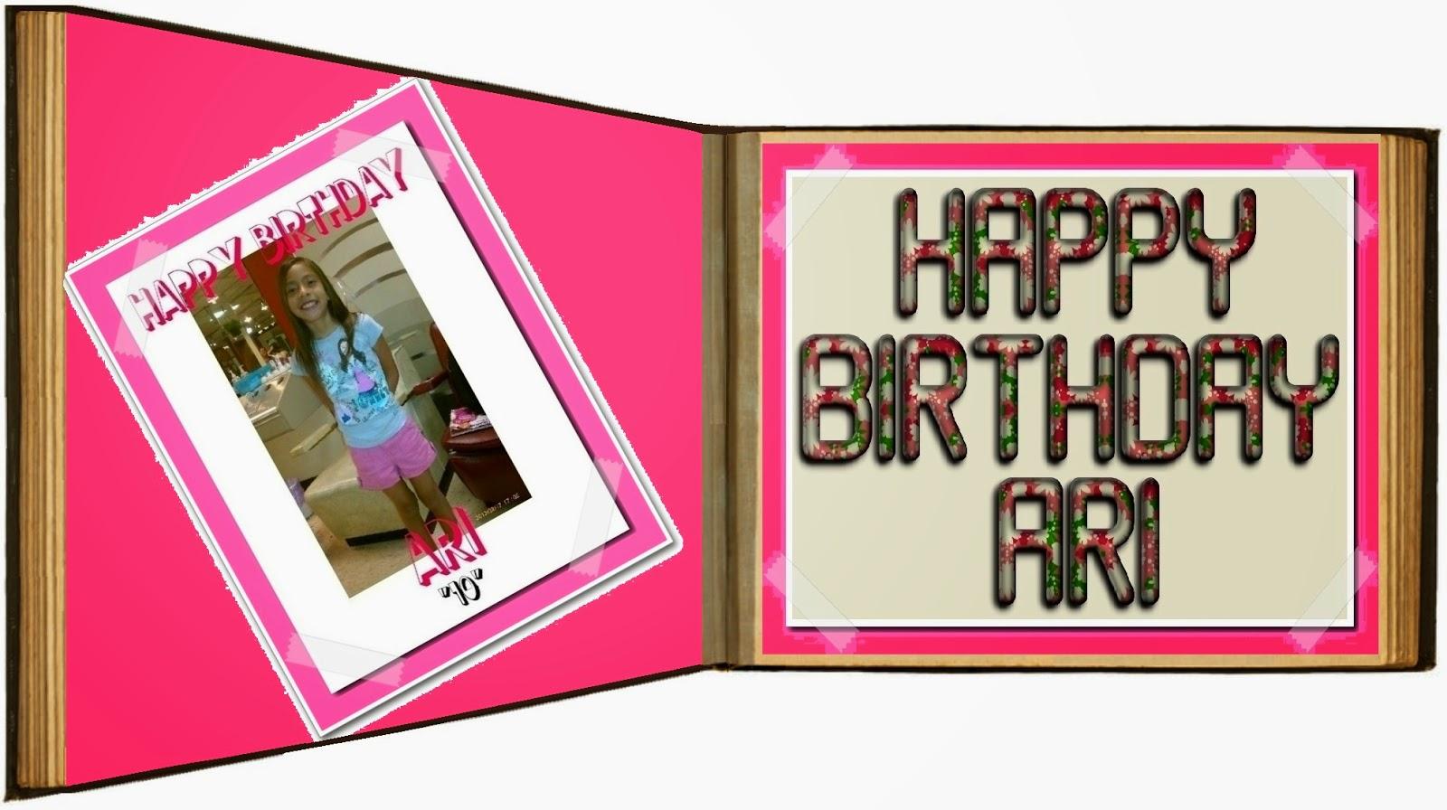 dominguez family blog  birthday wishes  happy birthday  ari