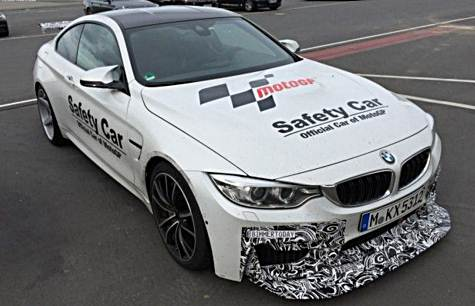 BMW M4 GTS spotted in Alpine White
