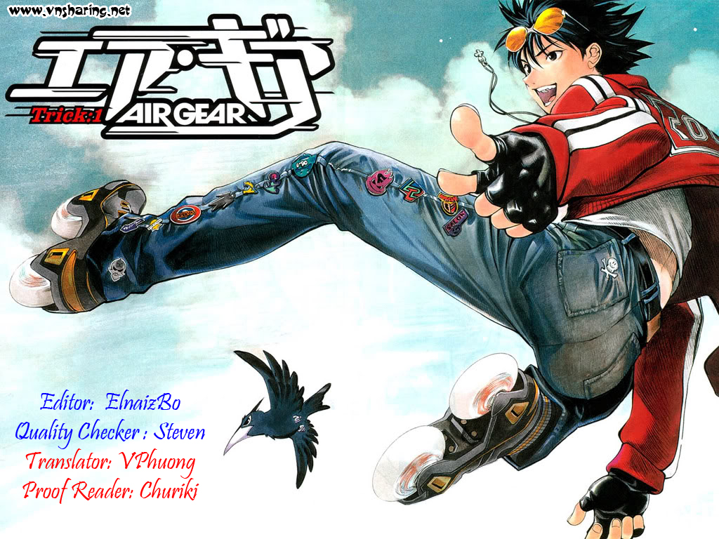 Air Gear Chap 168