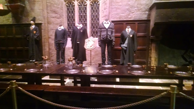 Costumes from the Harry Potter Set at the Warner Bros. London Studio Tour