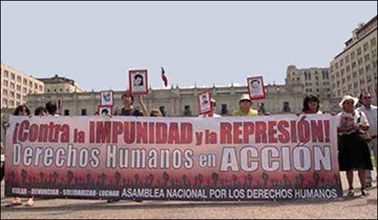 carta a Piñera rechazando indultos a criminales de lesa humanidad