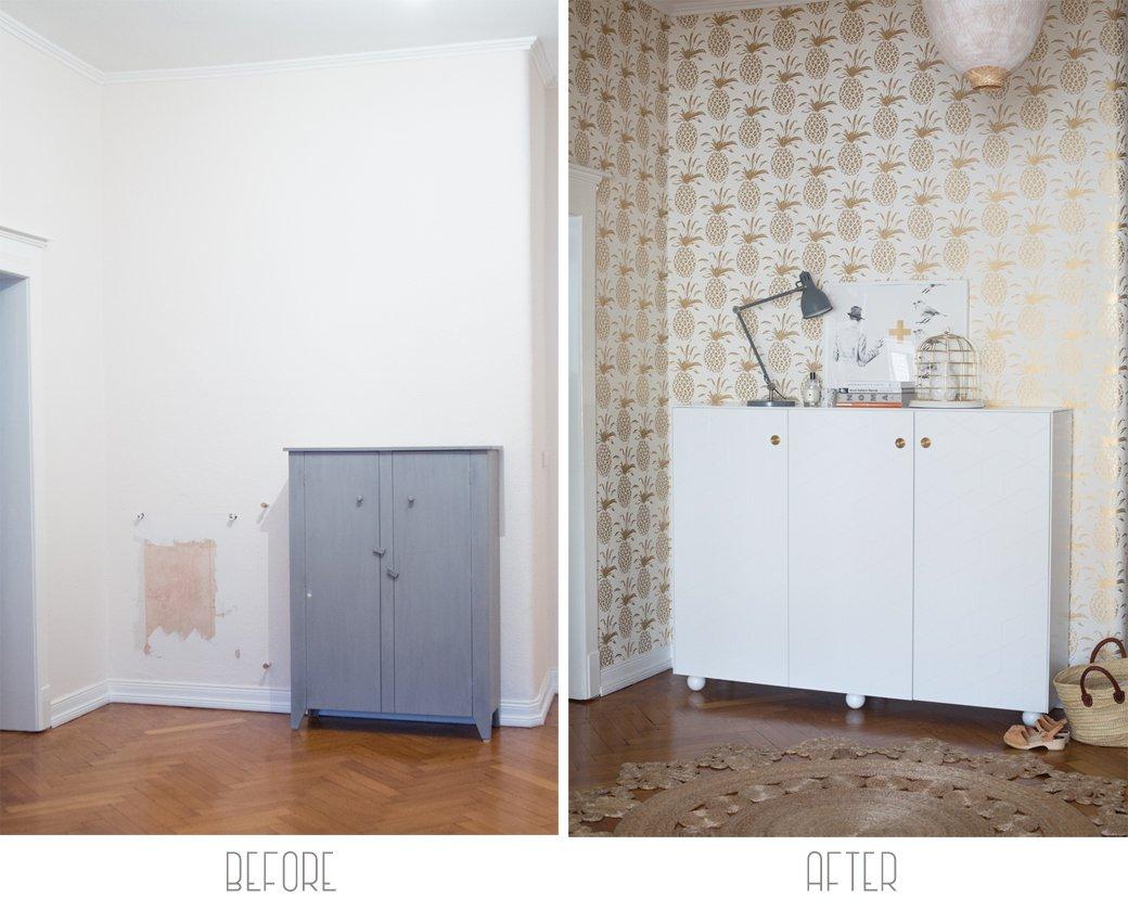 el tamao del mueble depender del espacio que tengas en la entrada de casa eso s si quieres ganar espacio de aprovecha y usa un mueble
