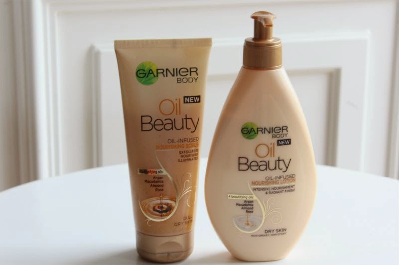 Garnier Oil Infused Body Collection