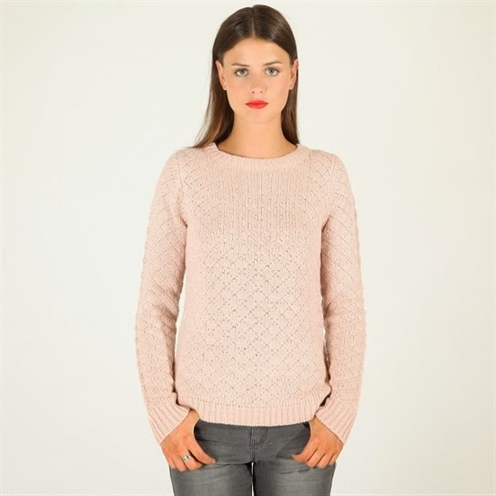 maglione cipria
