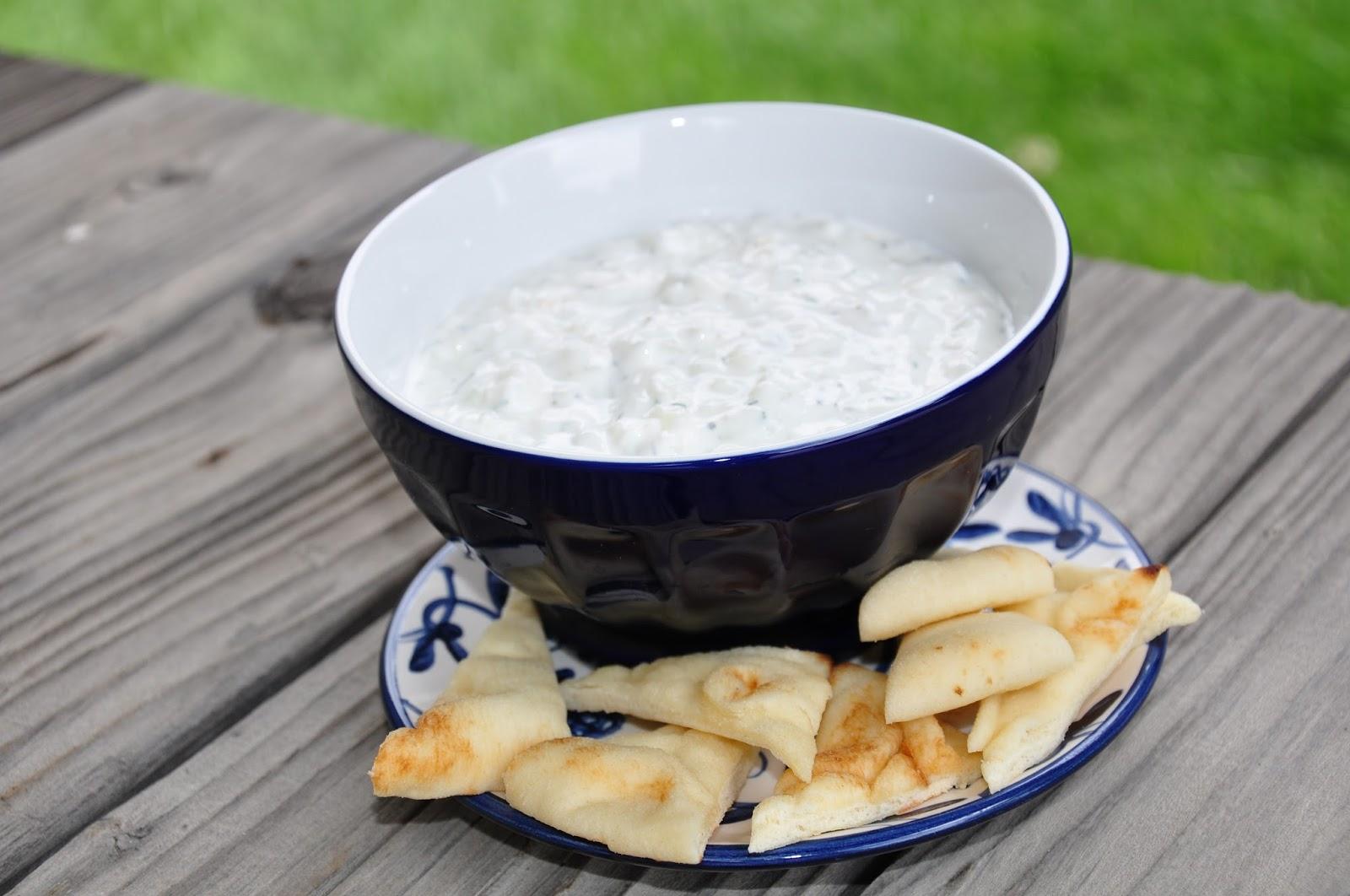The Changeable Table: Tzatziki - Cucumber/Yogurt/Dill Dip
