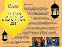 "Calling for TM ROVers! Let's Make ""Tautan Mesra TM Ramadhan 2014"" Programme A Shine"