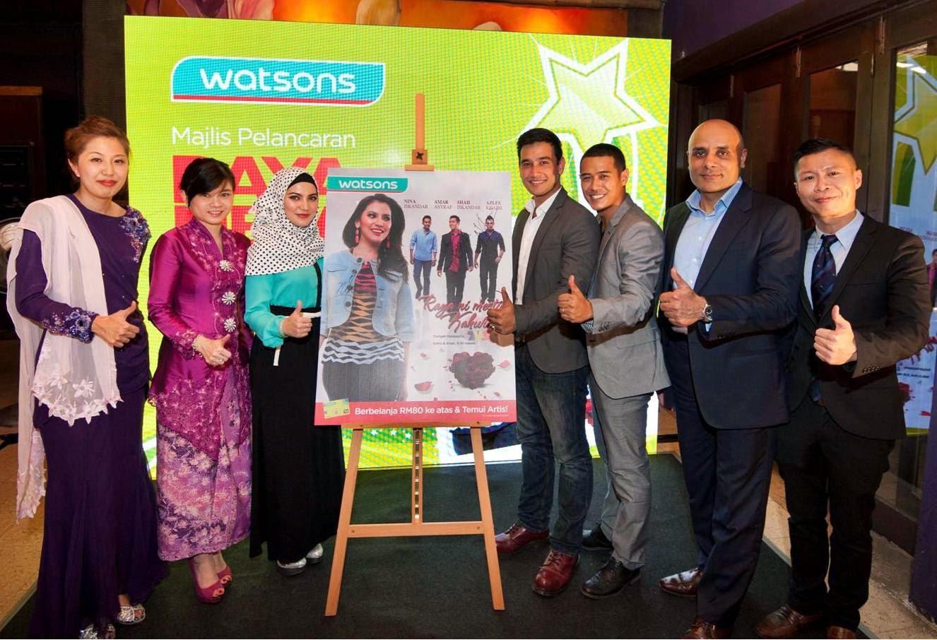 Raya Drama: Raya Ni Mesti Kahwin, Watsons, Watsons Malaysia, Malaysia Mega Sale, Raya Mega Sale