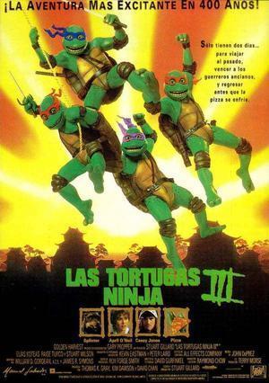TORTUGAS NINJA 3 (1993) Ver online - Español latino