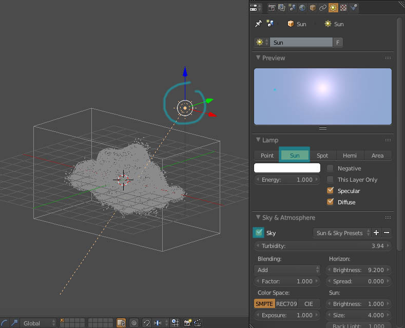 Tutorial Membuat Awan Blender 3d - Blendmuns Indonesia