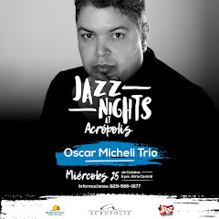 Jazz Nights at Acrópolis presenta este miércoles 25 de octubre a las 6:00PM
