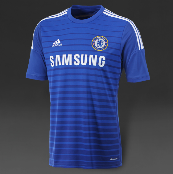 Jersey Adidas Chelsea 2014-15 SS Home Shirt - BlueWhite