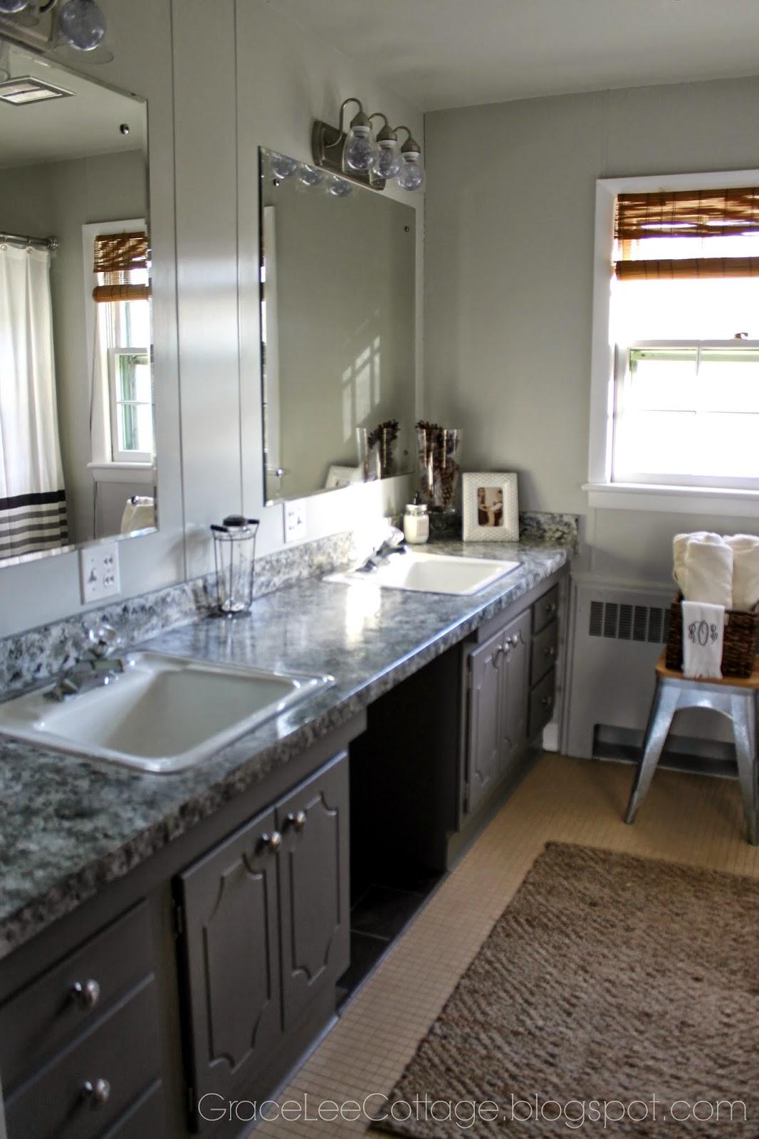 Grace Lee Cottage Farmhouse Bathroom Update