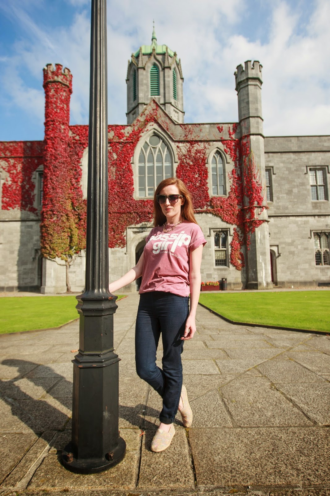 Bec boop NUIG Outfit post