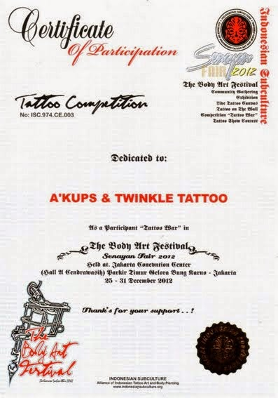 INDONESIAN SUBCULTURE Tattoo War Festival 2012