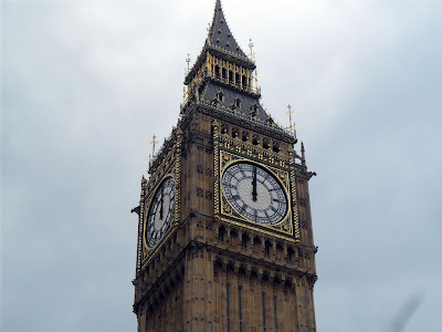 Its Midday according to Big Ben