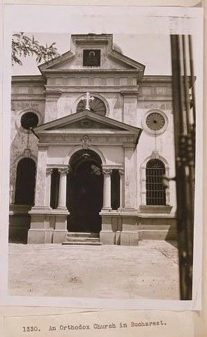 Biserica ortodoxa fotografiata de George Carpenter