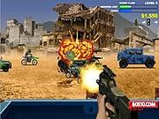 Game bắn súng xe hộ tống, chơi game ban sung hay tại GameVui.biz