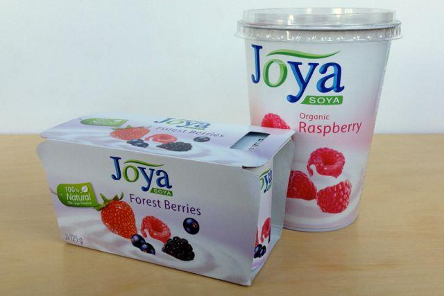 Joya Soya Yoghurts, dairy-free and vegan
