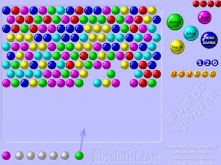 download bubble shooter game for mobile