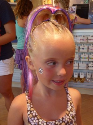 ... bow hairstyles using clip-in extensions (sold and used at Studio 365) could be done for a variety of Princess Fairy or rockstar Halloween costumes.  sc 1 st  Pretty Hairstyles78 & Pretty Hairstyles78: Halloween Hair for Girls: Part 2