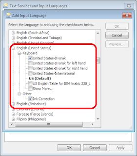 Cara Ubah Layout Keyboard QWERTY ke DVORAK