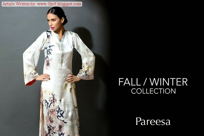 Pure Silk Shirts by Pareesa Chen One for WInter-14