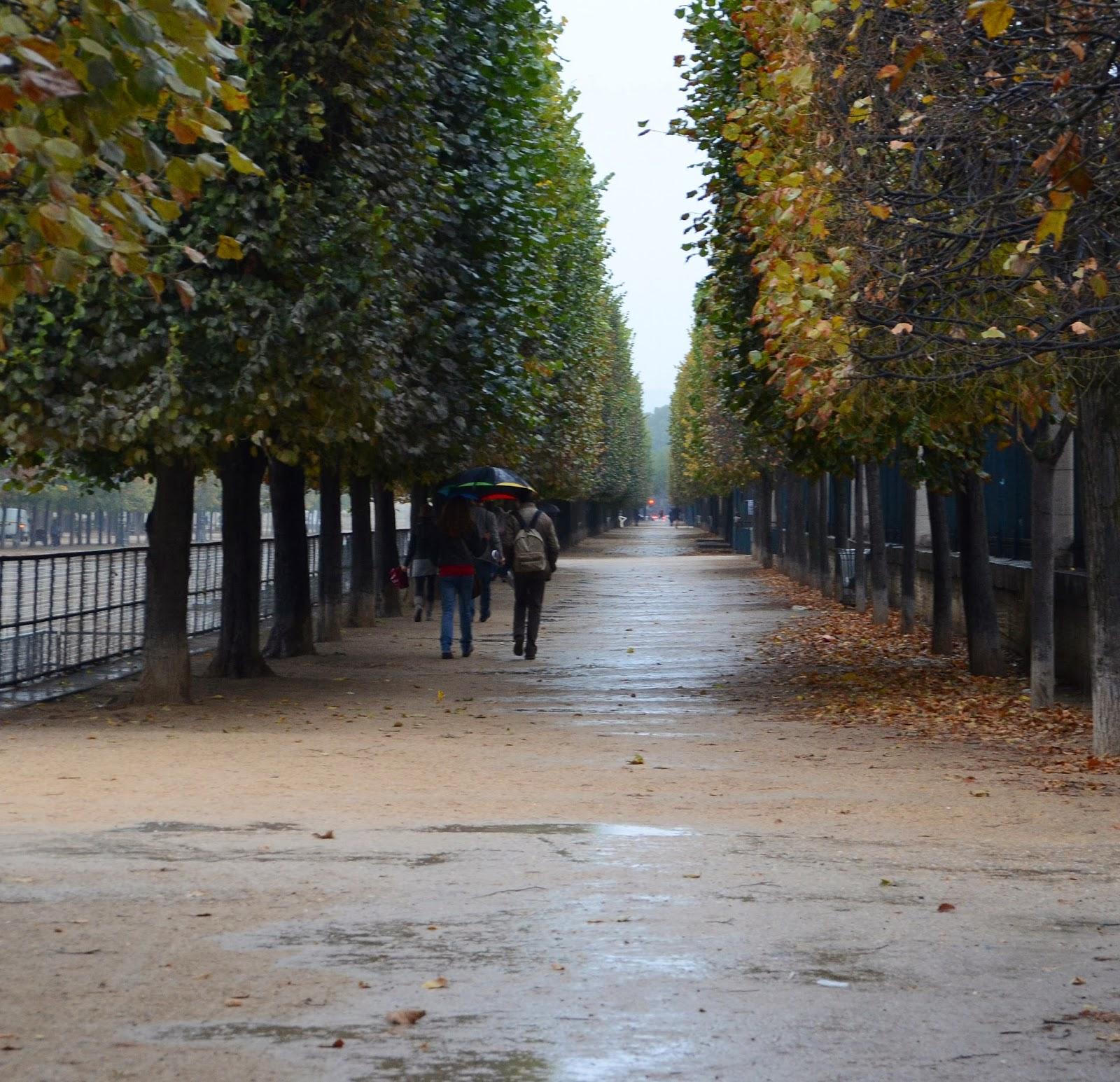 Paris and beyond jardin des tuileries des parapluies - Parapluie de jardin ...