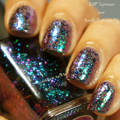 NailaDay: ILNP Supernova over Barielle Putt-e-On Me