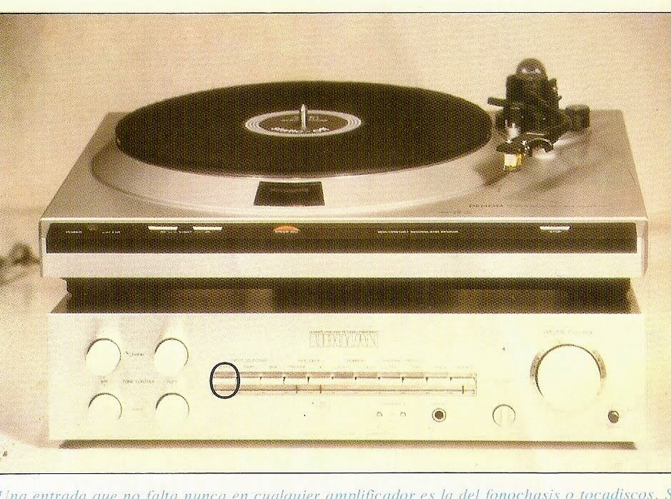 Tocadiscos+amplificador