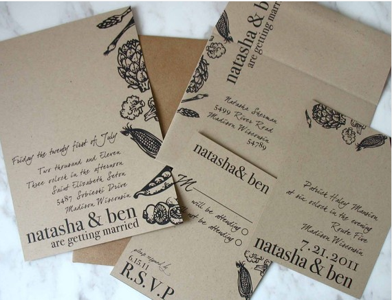 Looking for Rustic/Vintage Wedding Invitations - Weddingbee