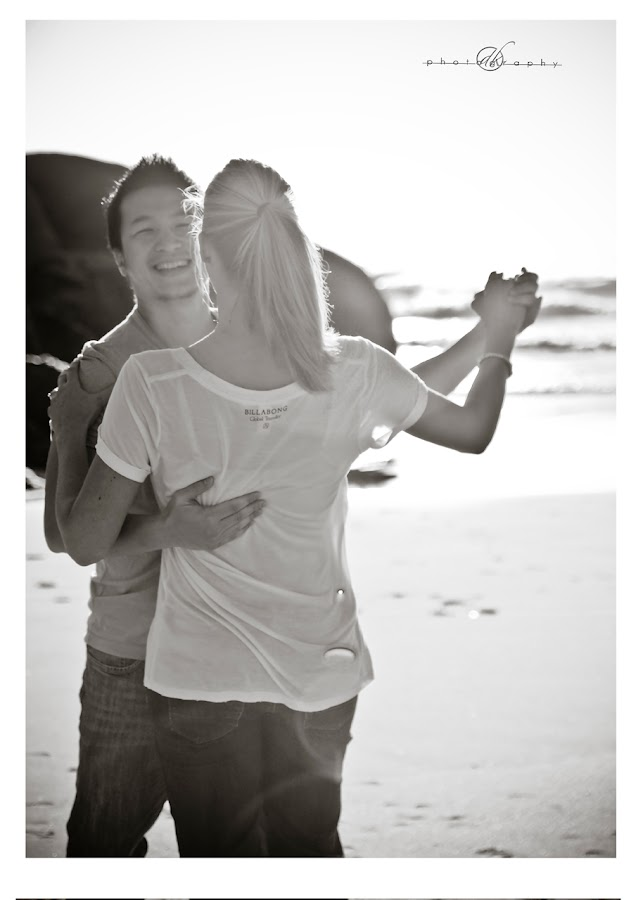 DK Photography 6 Kate & Cong's Engagement Shoot on Llandudno Beach  Cape Town Wedding photographer