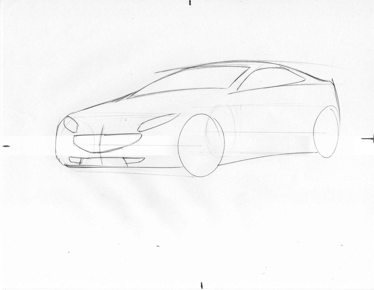 car drawing tutorial 27roman