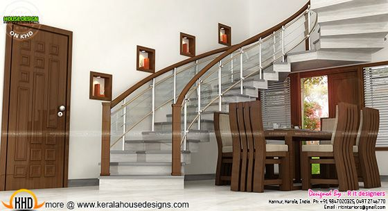 Dining and staircase