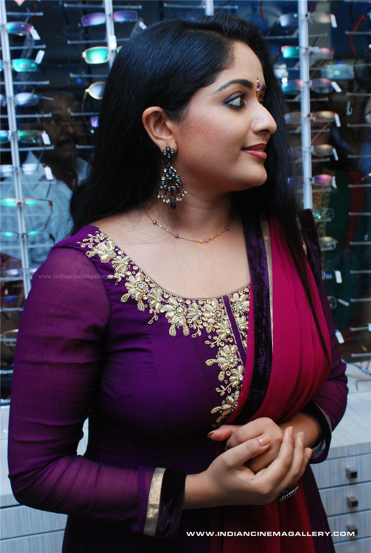 Kavya Madhavan hot photos in saree and churidar - Mallufun.com