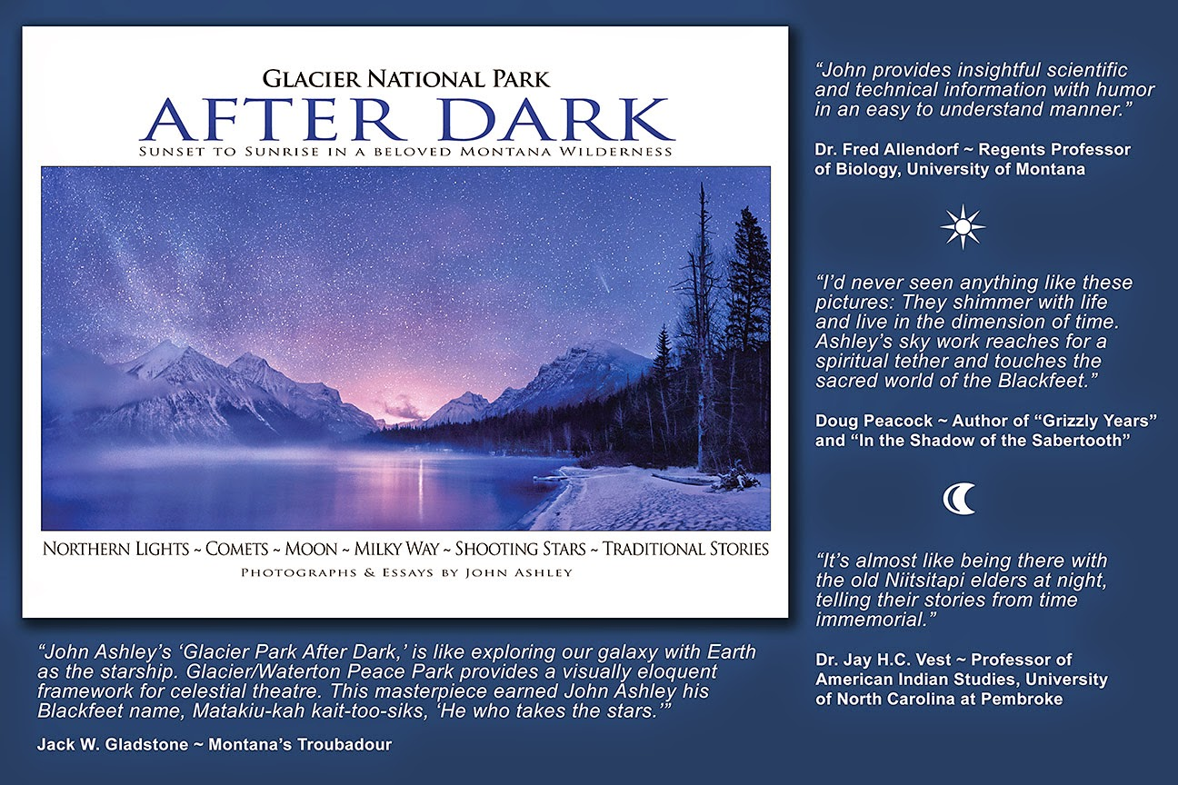 Glacier National Park After Dark