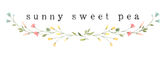 Sunny Sweet Pea | UK Lifestyle Blog
