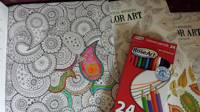 Coloring books for adults addicting and relaxing