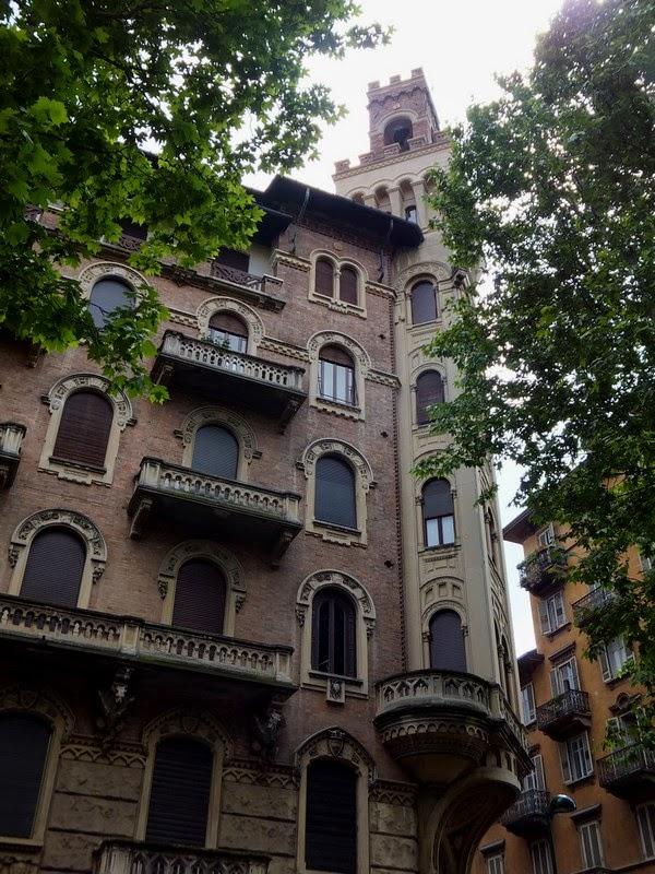 Turin Italie art nouveau Liberty corso francia casa della vittoria