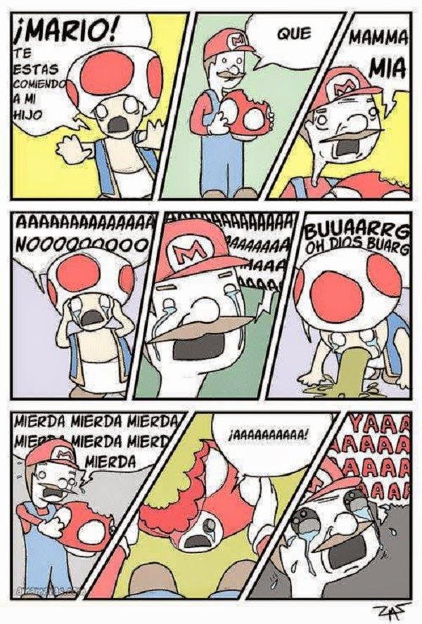 ¡No Mario!