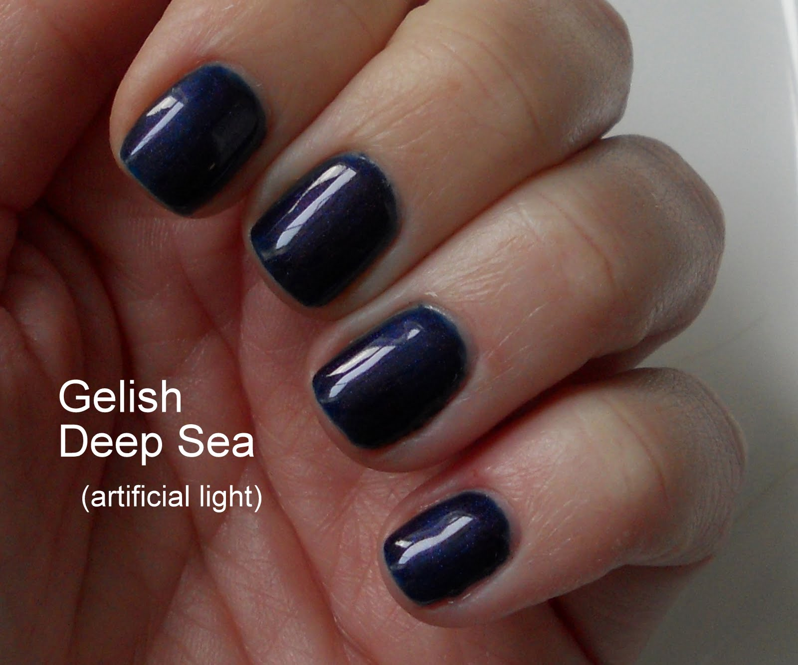 SMITTEN...in cleveland: Gelish - Deep Sea & GelColor By OPI