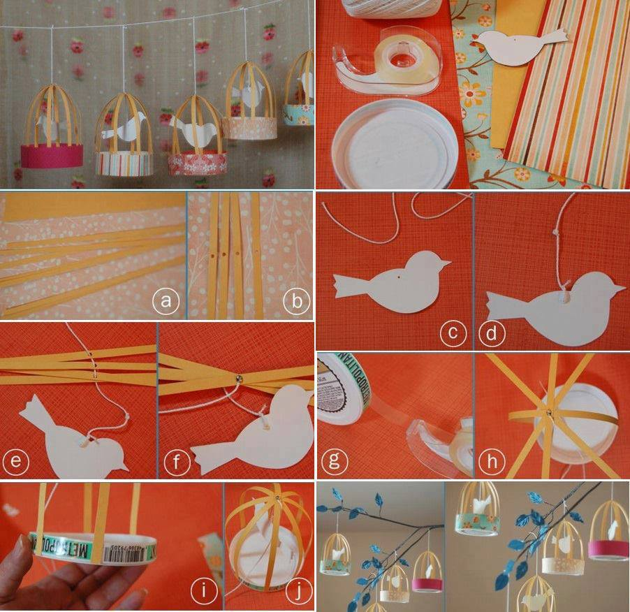 Jaulas decorativas paso a paso - Manualidades faciles para vender paso a paso ...