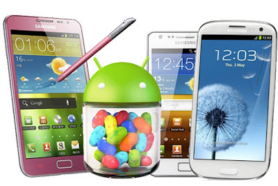 Jelly Bean Updates for Samsung Galaxy SII, SIII and Tab 7.7