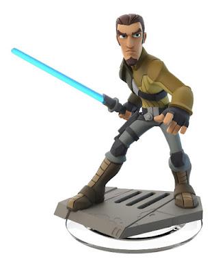 JUGUETES - DISNEY Infinity 3.0 Star Wars Rebels - Kanan Jarrus Figura - Muñeco - Videojuego Producto Oficial | A partir de 6 años | Comprar en Amazon