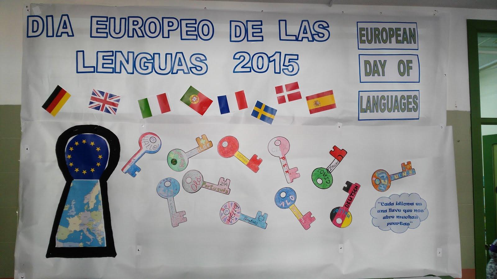 Día Europeo de las Lenguas 2015
